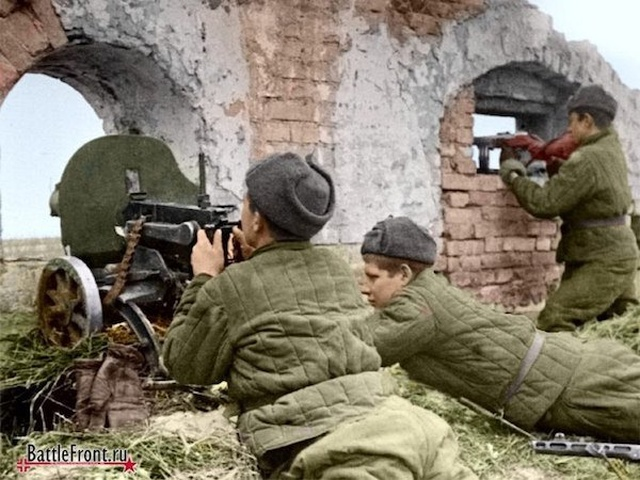 WWII Colorized Photos