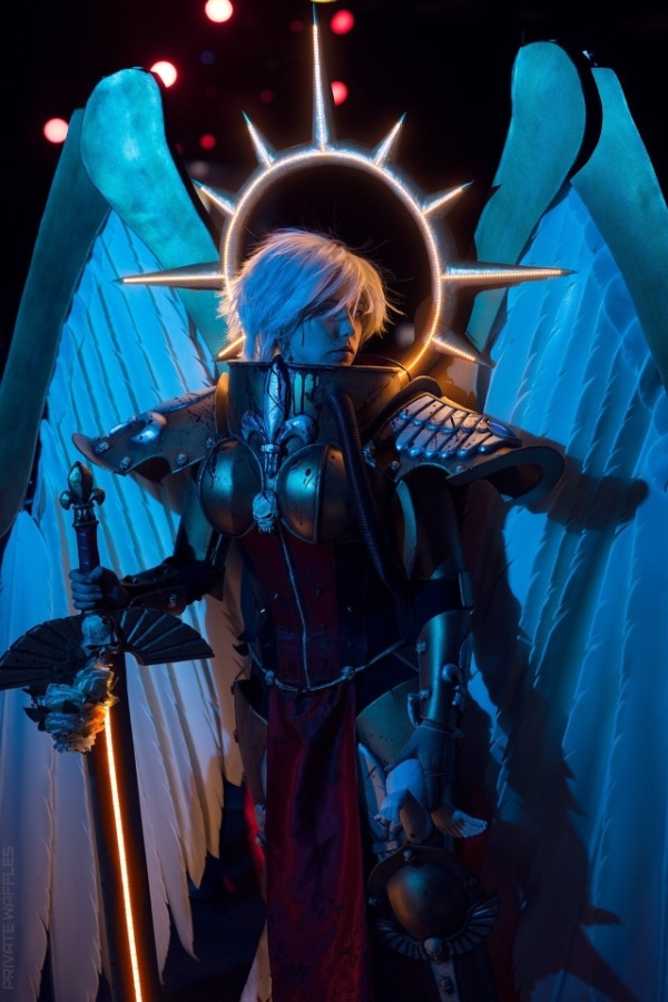 Stunning Celestine Cosplay from Warhammer 40,000, part 40000