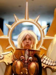 Stunning Celestine Cosplay from Warhammer 40,000