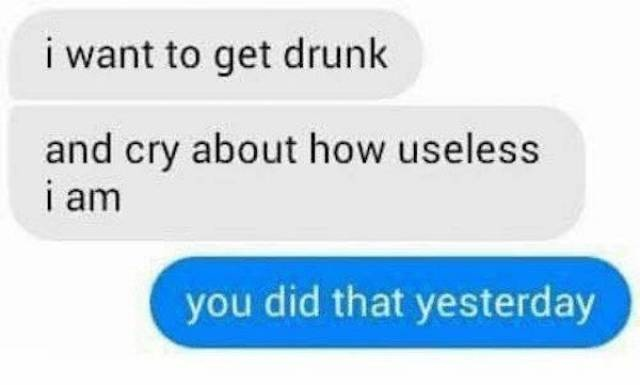 When You Drink Too Much