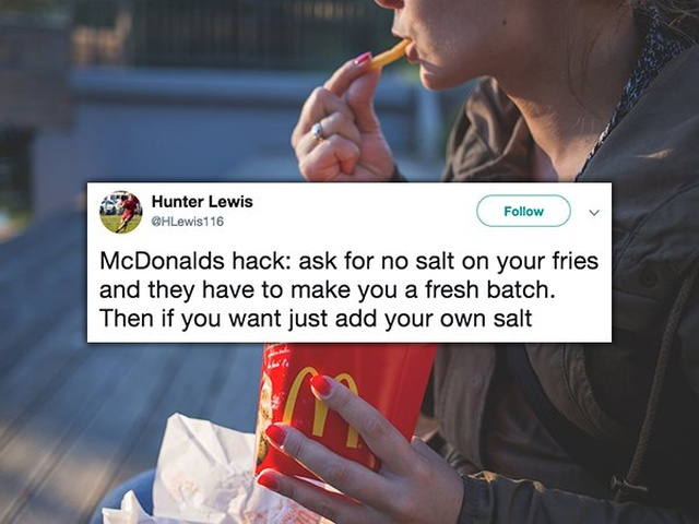 Interesting McDonald's Hacks