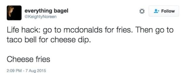 Interesting McDonald's Hacks