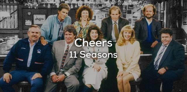 TV Comedies With The Biggest Amount Of Seasons