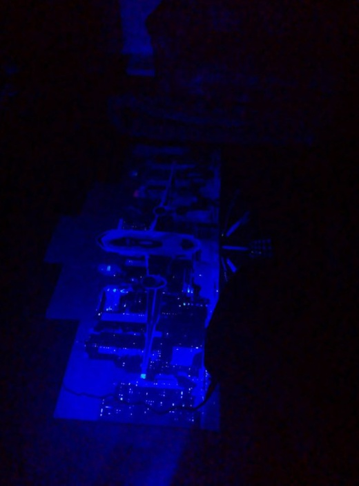 """""""Airplane"""" Painting That Glows In The Dark"""