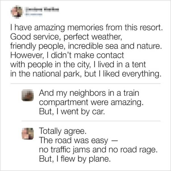 These Comments Are Almost Perfect