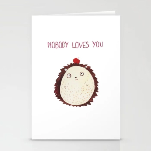 Anti-Greeting Cards For Your Enemies