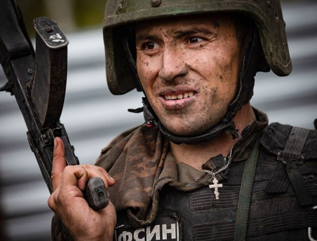 Russian Special Forces Test