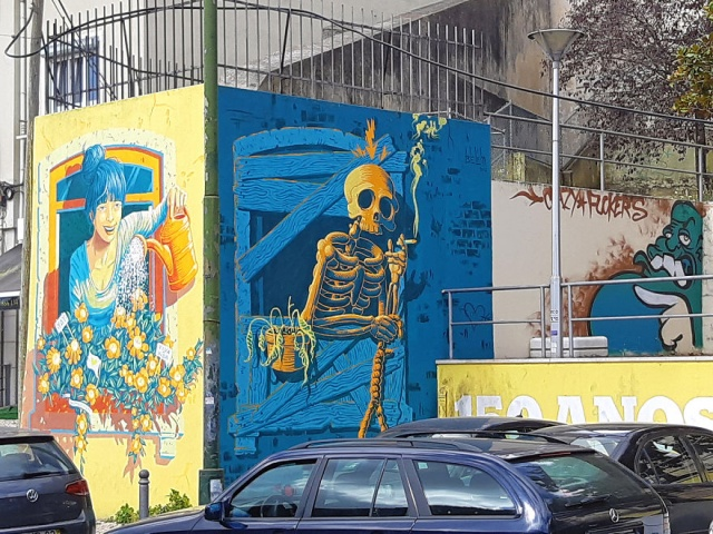 Lisbon's Government Allowed Street Artists To Paint On Walls