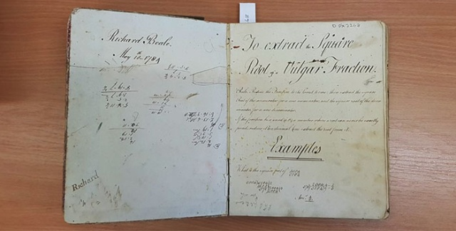A 234-Year-Old School Diary From A 13-Year-Old Boy