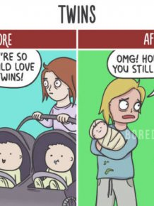 Before And After Your Kids Are Born