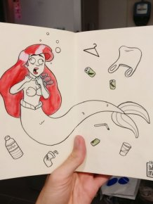 What Would Happen If Disney Characters & Superheroes Faced Ecological Disasters