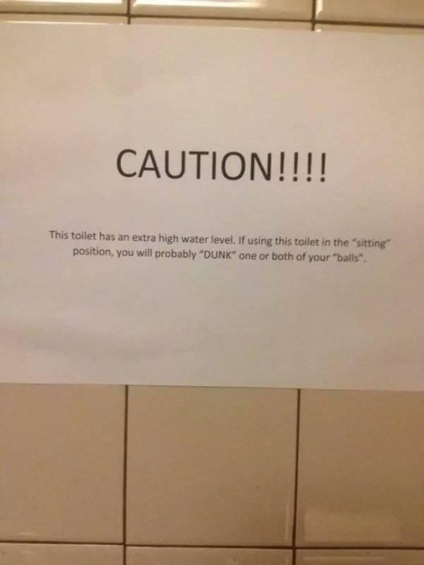 Bathroom Etiquette