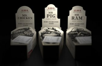 Meat Packaging Designs That Can Make You Go Vegan