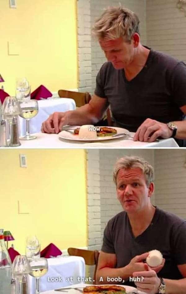 When Gordon Ramsey Talks