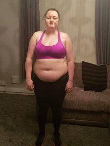 Without Alcohol She Managed To Lose 32 Kilos