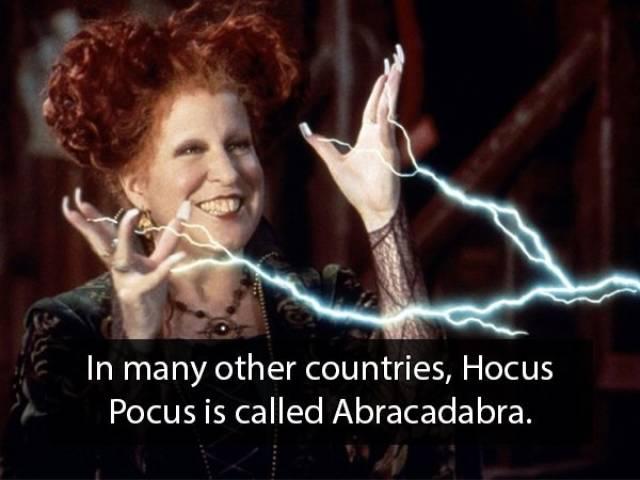 """""""Hocus Pocus"""" Facts"""