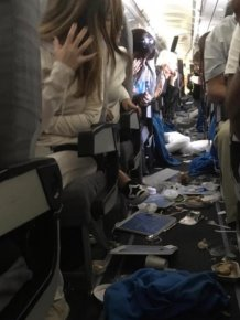 Plane After Severe Turbulence Which Injures 15 Passengers