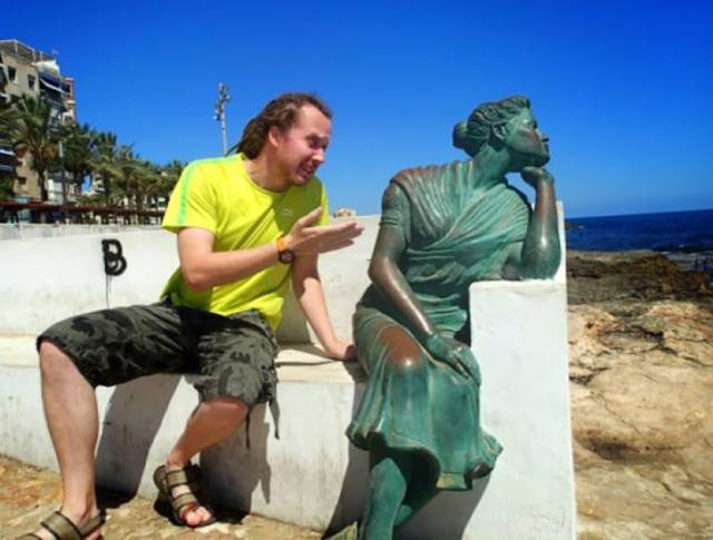 Fun With Statues, part 3