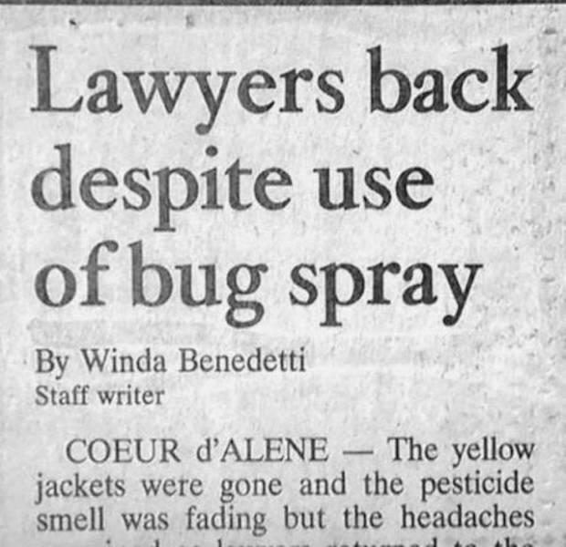 Strange Headlines