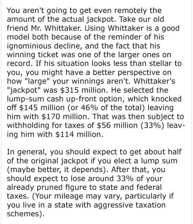 Winning A Lottery Can Be Bad For You If You Don't Know What To Do With So Much Money