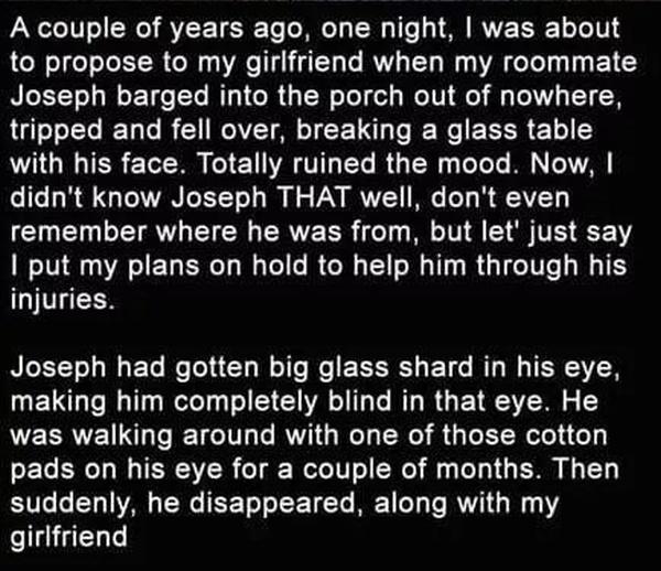 Tragic Tale Of A Lost Friend