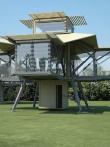These Self-Deploying Buildings Pop Up In 8 Minutes Flat