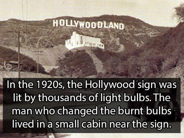 Facts About Hollywood