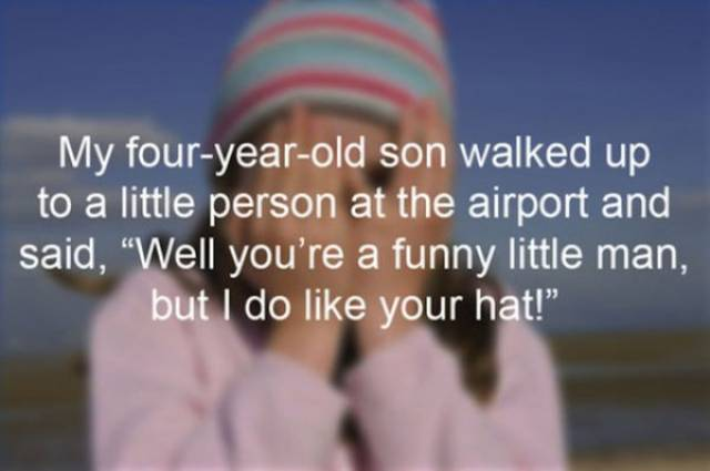 Embarrassing Moments With Kids