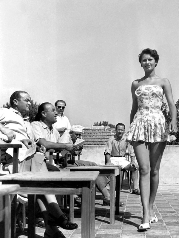 Sophia Loren At Miss Italia Contest