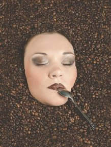 How To Take A Picture Of A Girl Drowning In Coffee Beans