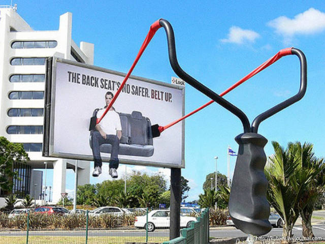 Examples Of Very Smart Outdoor Advertising