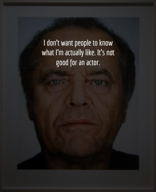 Great Words Of Jack Nicholson
