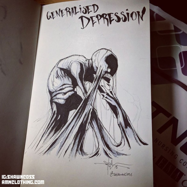 Illustrated Mental Illness And Disorders To Fight The Stigma Associated With Them
