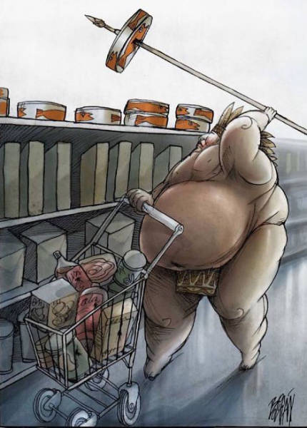 Satirical Cartoons By Angel Boligán