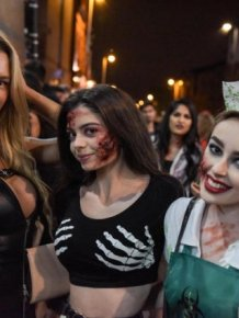 Halloween In Birmingham and Portsmouth
