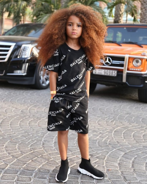 6-Year-Old Boy from Britain With Awesome Hair