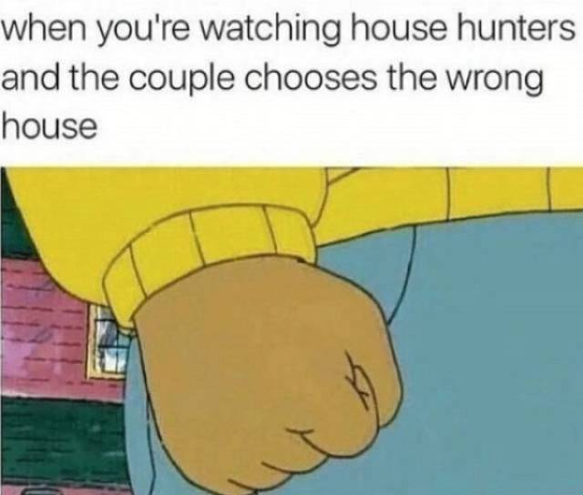 "Awkward ""House Hunters"" Moments"