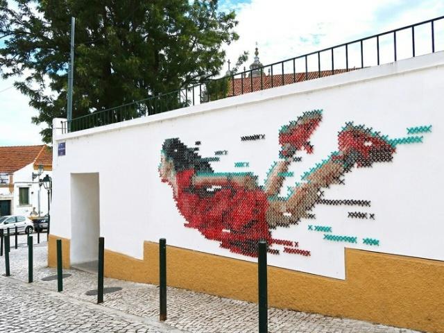 Unusual street art