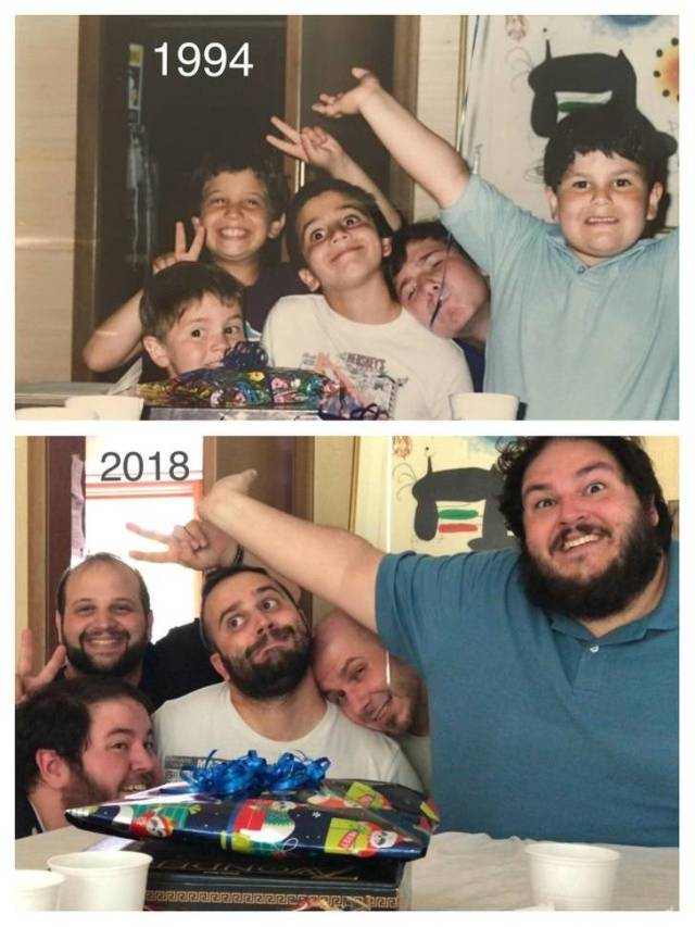 Old Photos Recreated