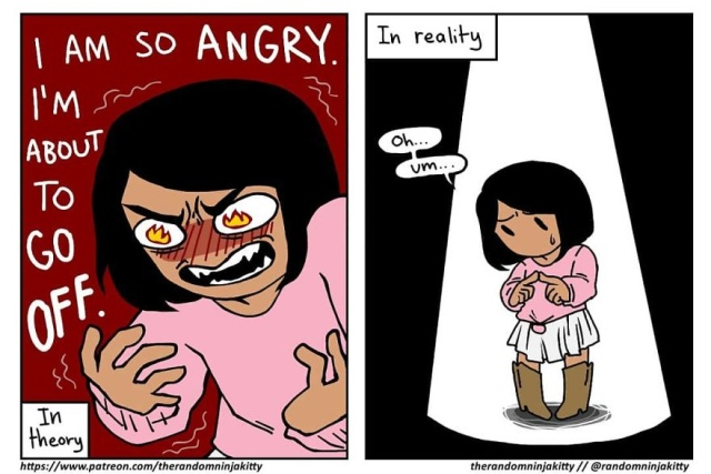 Artist Illustrates Her Daily Struggles As A Woman In Hilarious Comics