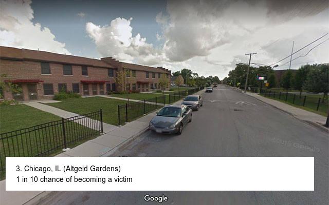 Dangerous Neighborhoods In The USA