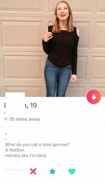 Funny Tinder Profiles