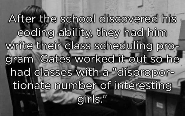 Facts About Bill Gates