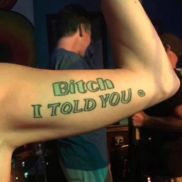Stupid Tattoos