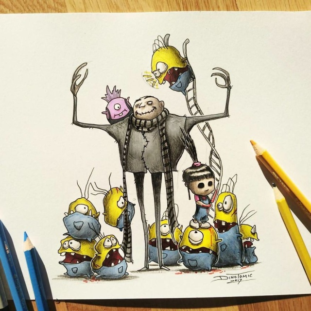 Creepyfies Of Your Favorite Cartoon Characters