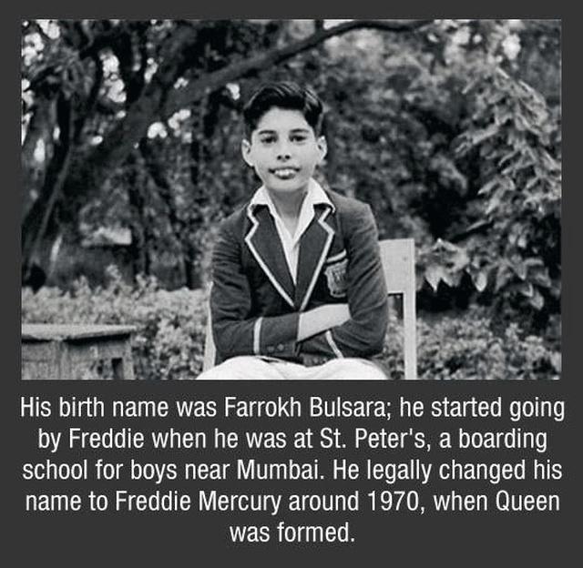 Freddy Mercury Facts