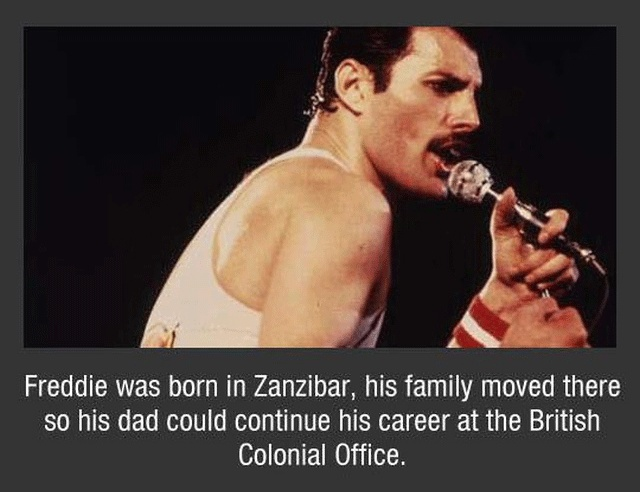 Freddy Mercury Facts