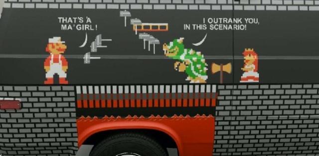 Smart Super Mario Car