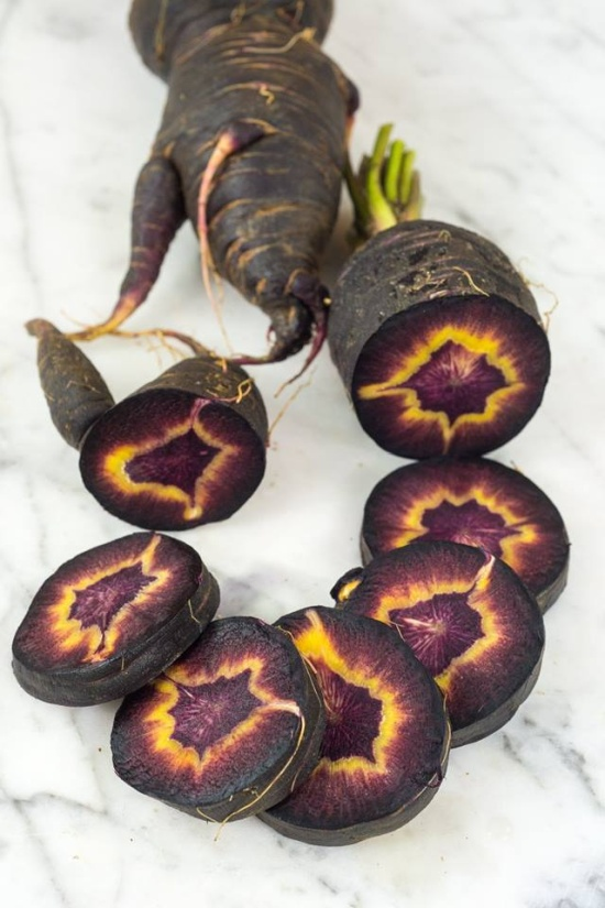 This Carrot Is Called Turkish Black