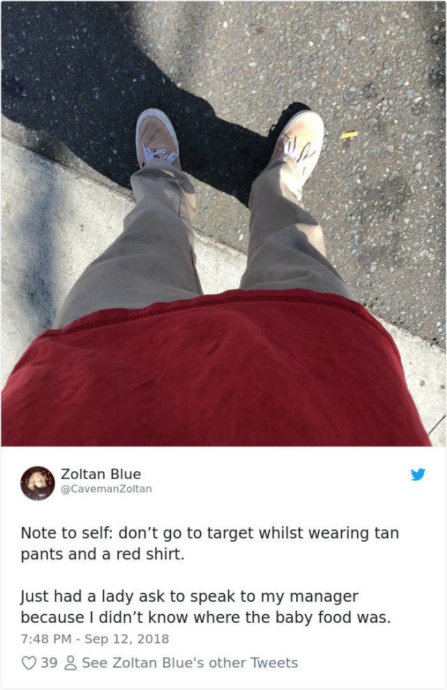 Don't Wear Red Clothes To Target